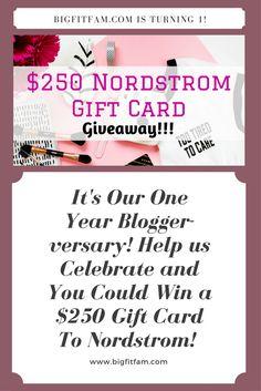 $250 Nordstrom Gift