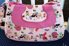 Fylerion Bag free pattern & tutorial from Sew Sweetness & Pellon