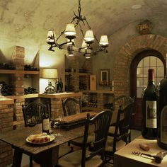 French Finese - traditional - wine cellar - minneapolis - Hendel Homes, Rick & Amy Hendel