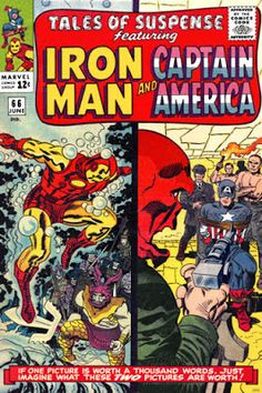 Tales of Suspense #66, Iron Man and Captain America