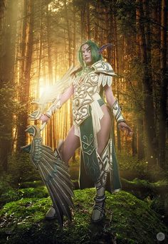Great Idea for Warcraft cosplay. Tyrande - Heroes of the Storm