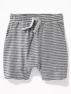 Striped Slub-Knit Jersey Shorts for Toddler Boys