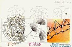 An Artist Labyrinth: Ginny Stiles CZT: August 2014