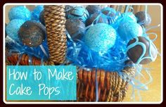 cake pops, add flavors and extracts for special effect