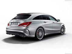 CLA45 AMG Shooting Brake 2016