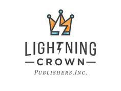 Lightning crown logo