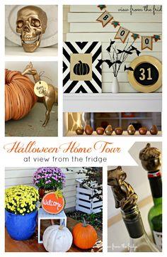 Halloween Home Tour & Blog Hop