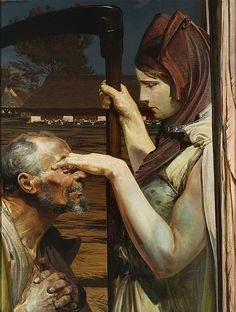 "Jacek Malczewski, ""Death"", 1902, oil on canvas, 98x75 cm, The National Museum in Warsaw"