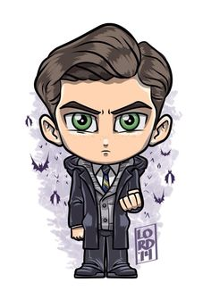 Young Bruce by Lord Mesa