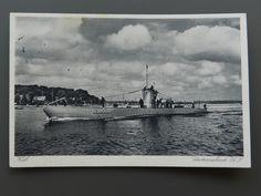 Foto Postkarte 2. WK  Deutsches U - Boot U7