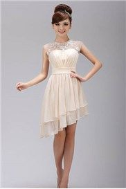 Brilliant A Line Scoop Mini Length Appliques Prom Homecoming Dress & simple Sweet 16