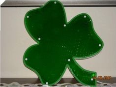 Impact Innovations Imports -2 31620 Shimmering Lighted Shamrock Window Ornament by Impact Innovations Imports -2. $7.99