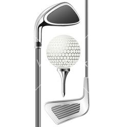 Golf club and ball vector 34951 - by Borat on VectorStock®