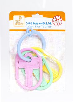 Find baby toys like these soft keys and more at your local Dollar General for less. Baby Girl Toys, Toys For Girls, Life Space, Practical Life, Baby Center, Dollar General, Keys, New Baby Products, Girls Toys