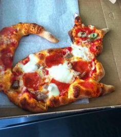 Kitty pizza!