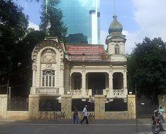 residencia de Joaquim Franco de Mello e foi construída em 1905