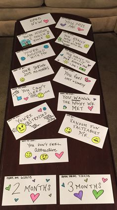 """Did a stack of """"Open Me When"""" letters for my boy. This temporary Long Distance can't take me away from you. #LongDistanceRelationship #OpenMeWhen"""