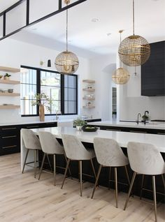 50 Best Modern Dining Room Design Ideas farmtable … – – Home living color wall treatment kitchen design Home Design, Room Interior Design, Küchen Design, Dining Room Design, Home Interior, Kitchen Interior, Modern Interior, Modern Furniture, Home Decor Kitchen