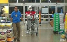 Bizarre People Spotted at Walmart11