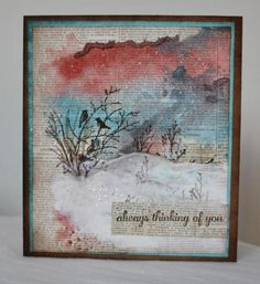 IC475, From my window by Holstein - Cards and Paper Crafts at Splitcoaststampers