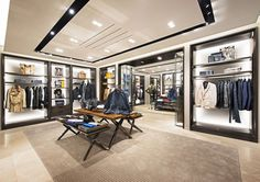 Burberry newly re-opened store at Paragon Mall in Singapore, following renovation
