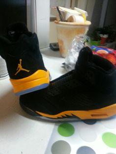 Air Jordan 5 custom Jordans sneakers