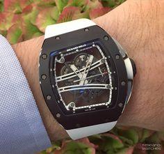 Richard Mille RM 61-01 Yohan Blake Limited Edition Monochrome