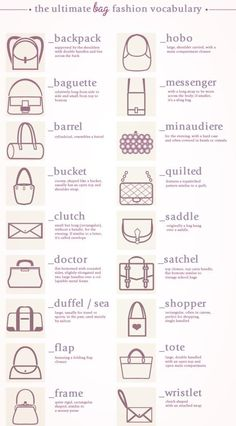 The ultimate bag guide