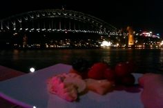 Eating Brie at the Sydney Opera House Boardroom - you don't get much fancier than that.