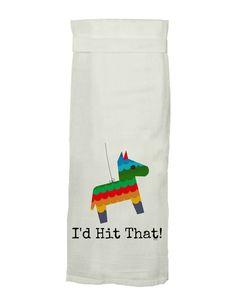 Piñata I'd Hit That Tea Towel