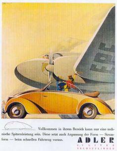 Bernd Rueters, the Adler 2.5 L. Ad Series - Dieselpunks