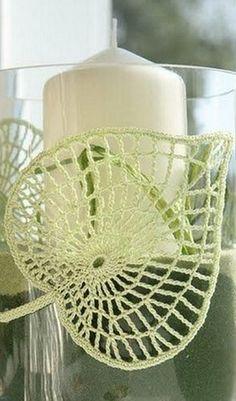 Crochet leaf pattern diagram ~k8~
