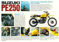 Suzuki Dirt Bikes, Survival Knots, Enduro Motorcycle, Japanese Motorcycle, Dirtbikes, Cool Bikes, Motocross, Cars And Motorcycles, Motorbikes