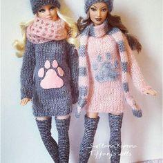 #dolls #barbiedoll #barbiecollector #clothesforbarbie #barbiestyle #instabarbie #dollsphotography