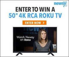 Enter for your chance to win a new Roku TV Sweepstakes! I entered here! http://bit.ly/2zxDKHE