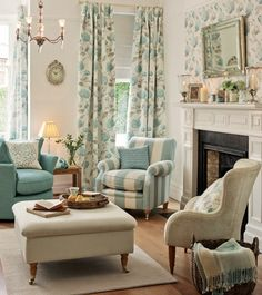 collection hydrangea duckegg laura ashley home living room cottage style living room
