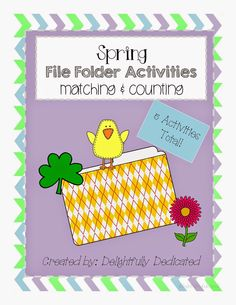 Spring File Folder Activities