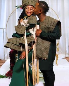 How beautiful are these two? Congrats to and his wife 👌🏼👌🏼🔥🔥. Your love story is just soo beautiful and… Wedding Things, Wedding Day, African Actresses, Shweshwe Dresses, Latest African Fashion Dresses, African Beauty, Couple Pictures, Traditional Outfits, Rapper
