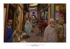 """Fez""  #MiguelanxoPrado #ComicConPortugal #ilustracion #illustration #Fez"