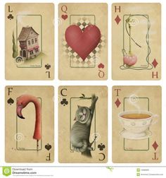 Vintage Playing Cards - Download From Over 44 Million High Quality Stock Photos, Images, Vectors. Sign up for FREE today. Image: 13996963