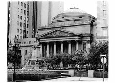 Photo by John Mathieu. Bank of Montreal original Bank of Montreal building built around 1800. Photo taken in 1980's