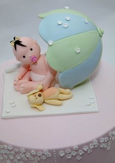 Baby Shower Topper by Rouvelee's Creations, via Flickr