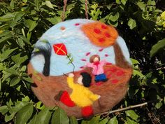 Hey, I found this really awesome Etsy listing at https://www.etsy.com/listing/564320251/autumn-children-needle-felted-picture