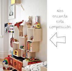 habitaciones-infantiles-estanterias