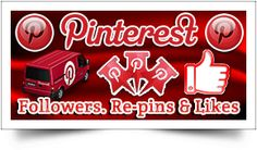 Pinterest is now the 3rd most popular social network in the world. Over 80% pins are repinned by other Pinterest users.Do not miss the opportunity to brand your business, website, or yourself on Pinterest. We are expert in Pinterest Promotion so buy 100% real Pinterest followers, repins and likes from us for increasing your sales and business growth. Choose and order your package for Pinterest Followers, Re-pins and Likes -  http://seoservicesmaster.com/buy-pinterest-services/