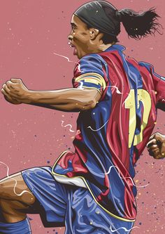 Dreams on Behance Best Football Players, Football And Basketball, Soccer Players, Barcelona Fc, Barcelona Football, Cr7 Messi, Ronaldo Juventus, Ronaldinho Wallpapers, Mbappe Psg