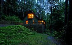Riverhouse Retreat, Sliding Rock Cabins of Ellijay, Georgia