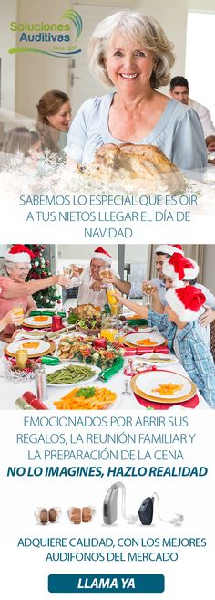 Sabemos lo especial que es oír a tus nietos llegar el día de navidad emocionados por abrir sus regalos, la reunión familiar y la preparación de la cena… NO LO IMAGINES, HAZLO REALIDAD.   Adquiere calidad, con uno de los mejores audífonos del mercado.   LLAMA YA  Tel: +57(1) 6110808   WhatsApp: 300 5260573 Imagines, Breakfast, Family Meeting, Grandchildren, Dinner, Get Well Soon, Presents, Xmas, Morning Coffee