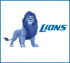 What If Disney Designed Every Sports Team's Logo?Detroit Lions