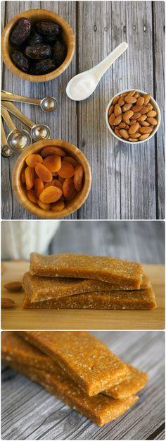 Paleo Almond Apricot Breakfast Bars #backtobalance #ad
